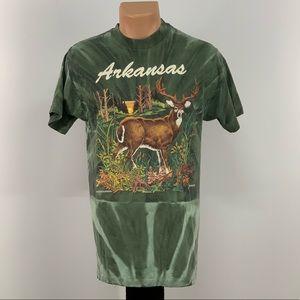 Vintage 80s Arkansas Wildlife T-shirt